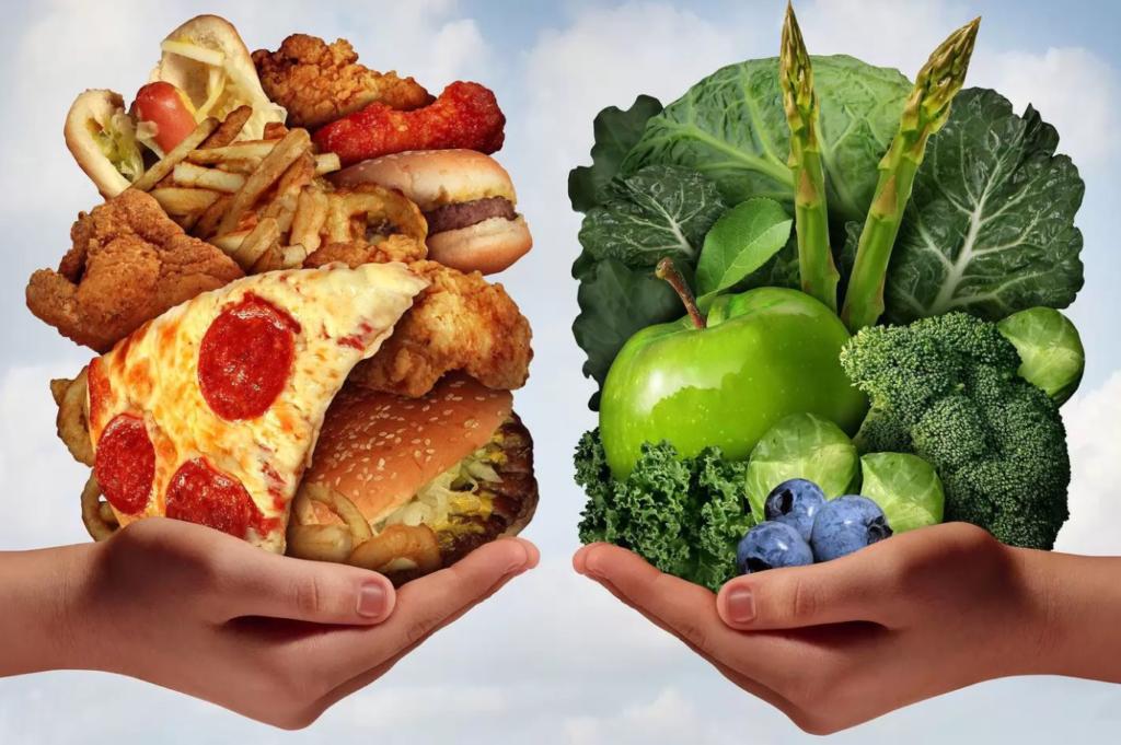 Как соблюдать здоровое питание в праздники